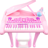 Baby children's keyboard with microphone early education piano beginner boys and girls toys 1 3 6 years old baby gift