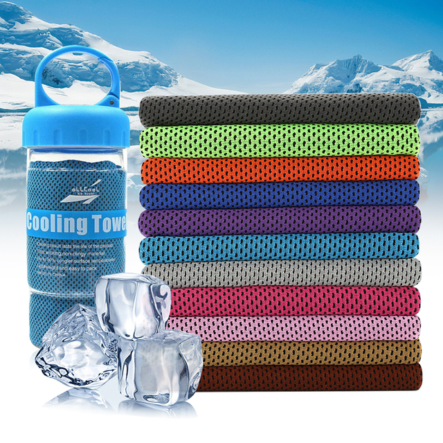 Running Jogging Gym Instant Cooling Towel Sports Chemical-free and Reusable