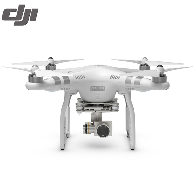 Cámara fpv drone dji phantom 3 avanzó 100% original con 1080 p cámara rc helicóptero sin escobillas con gimble gps sistema