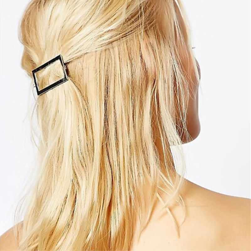 Женские Треугольные лунные заколки для волос, заколки для волос, аксессуары для волос, круглые ювелирные Заколки для губ, женские заколки для волос, аксессуары для волос