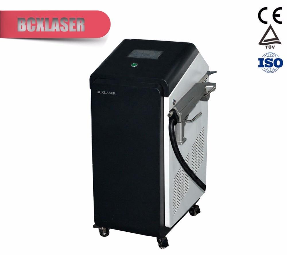 Высокая точность краски/удаления ржавчины машина волокно лазерная машина для чистки 100 Вт/200 Вт для продажи