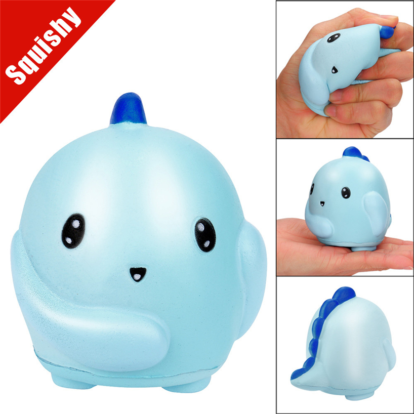 PU Squishy Jumbo Cute Baby Dino Slow Rising Cream Squeeze Toy Scented Cure Toys Gift Stress Relief Cute Drop Shipping APR18