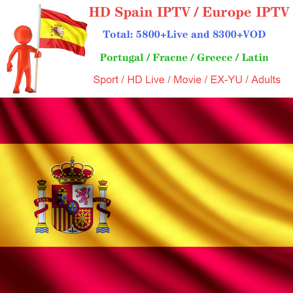 IPTV Spain Europe Arab-Support France Subscription Germany Live Smart-Mag250 Android