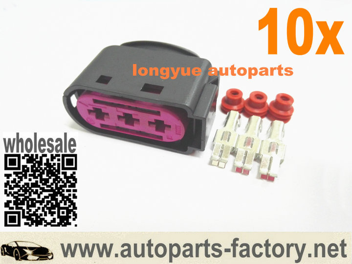 compare prices on fuse connector online shopping buy low price longyue 10pcs 3 way pin oem fuse box repair connector kit 1j0 937 773 case