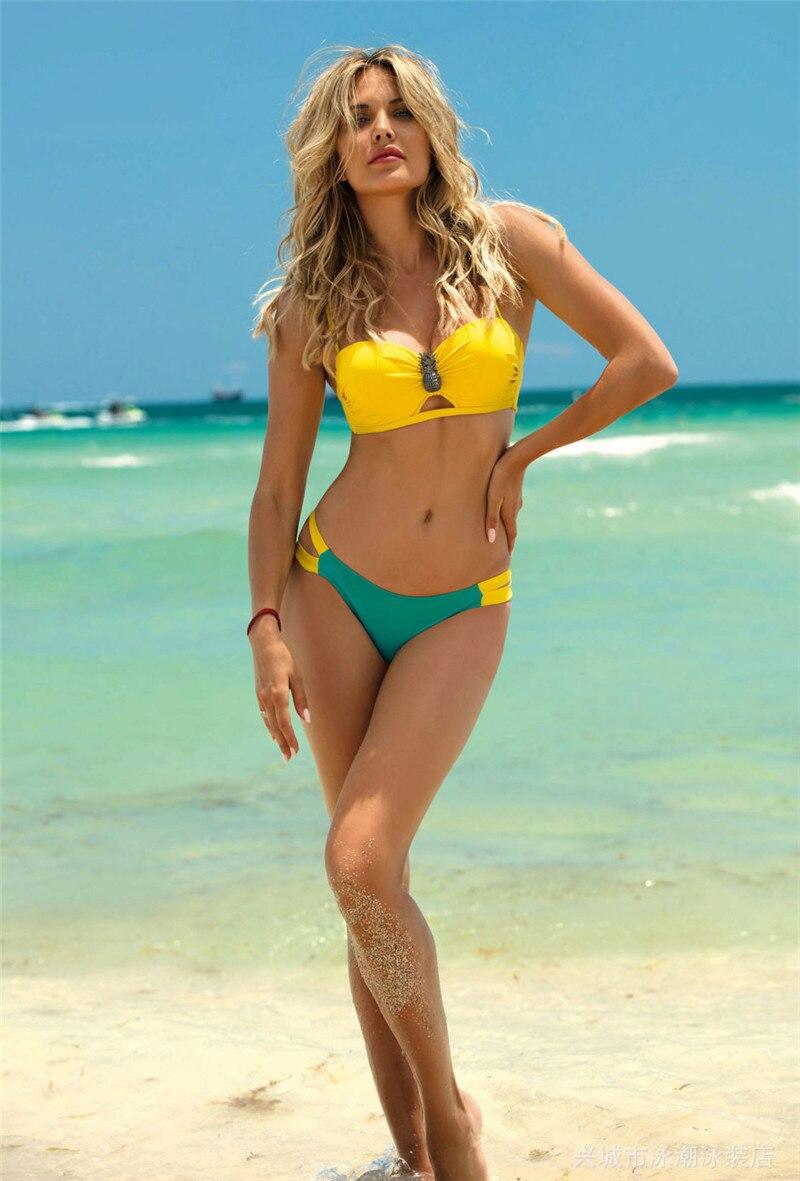 HTB1LOMvPQzoK1RjSZFlq6yi4VXay Swimwear Women Sexy Bikini Set 2019 New Push Up Micro Swimsuit Female Bathers Bandage Bathing Suit Beach Bikini Two-Piece Suits
