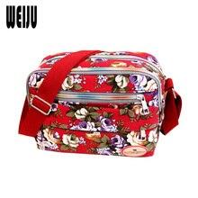 Small Women Shoulder Bag 2016 Korean New Fashion Printing Women Messenger Bags Canvas Bags Mummy Bag Ladies