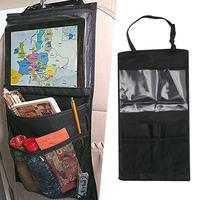 Car Accessories organizer Auto Seat of chair Back For iPad Tablet Hanging Holder Halter Storage Organizer Pocket storage bag