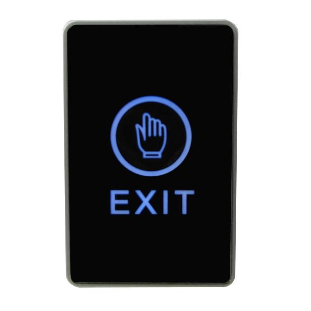 Infrared Sensor Touch Exit Switch Button for access control system