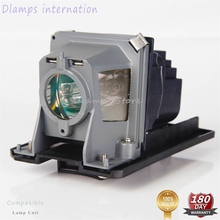 Высококачественная Лампа проектора NP13LP NP18LP с корпусом для NEC NP110, NP115, NP210, NP215, NP216, Φ, проекторы