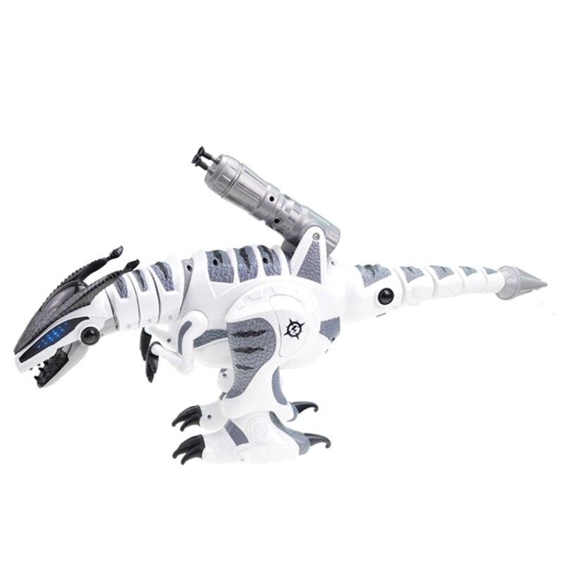 Juguete eléctrico para mascotas K 9 simulación de caminar RC Battle Animal Robot interactivo inteligente dinosaurio juguete con lanzamiento suave bala - 4