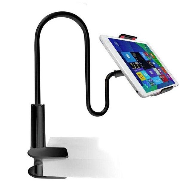 For Ipad Holder Universal Long Flexible Neck Desk Table
