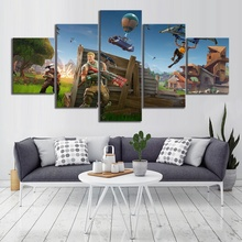 5 Piece GAMING Enforcer Poster on Canvas for Home Decor F5V6