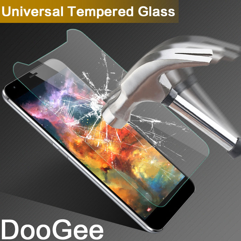Universal Tempered Glass Film For Doogee Valencia 2/Valencia2 Y100/pro 5.0 inch 9H 2.5D Screen Protector For Doogee T5s/S30 S 30