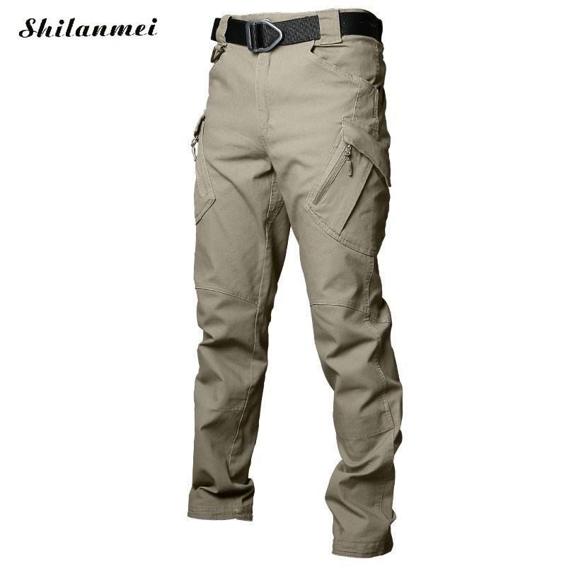 2018 hommes randonnée pantalon Softshell pantalon plein air pantalon homme imperméable montagne Trekking Ski Sport pantalon S-XXXL grande taille - 5