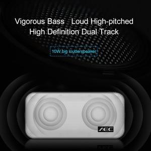 Image 5 - AEC BT 205 taşınabilir bas Bluetooth hoparlör Mini kablosuz hoparlör Stereo müzik hoparlör dahili mikrofon desteği TF kart