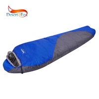 Desert&Fox Winter Mummy Sleeping Bag Wearable Blanket Portable Backpacking Sleeping Bags with Compression Sack for Cold Weather