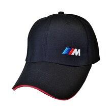 цена на Racing Car logo M performance Baseball Cap Speedway Series Rally Hats Car Fans Motorcycle Caps Sun Snapback Men Women Hat