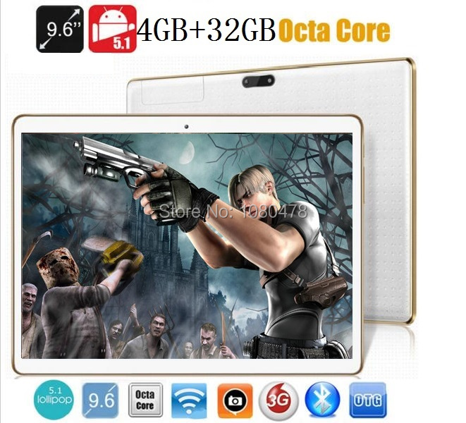 Tablet pc 9.6 inch 3G 4G LTE Octa core bluetooth wifi GPS 1280*800 5.0MP 4GB 32GB Android 5.1 7 9 10 tablet DHL Free shipping автомобильный dvd плеер joyous kd 7 800 480 2 din 4 4 gps navi toyota rav4 4 4 dvd dual core rds wifi 3g