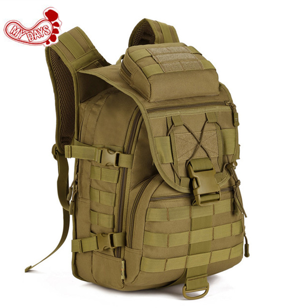 Sale Cheap 40L Waterproof 3D Military Tactics Backpack Rucksack Bag Hike Trek Hunting Travel Backpack Tactical X7 Suckpack sinairsoft sport waterproof 3d military tactics backpack rucksack 20l for hike trek camouflage mochila travel outdoor bagsly0049