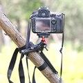 Marsace flexível mini table top tripé com cabeça do tripé compacto portátil pequena viagem tripé para câmera canon nikon sony dslr