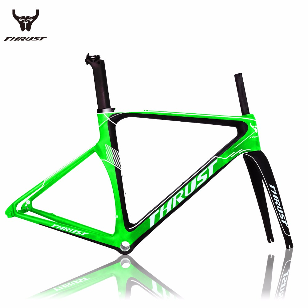 Carbon Road Bike Frame 2017 Hot selling T800 super light suit for 130mm hubs and 700C wheels Road carbon frame 2 Years Warranty mountain bike four perlin disc hubs 32 holes high quality lightweight flexible rotation bicycle hubs bzh002