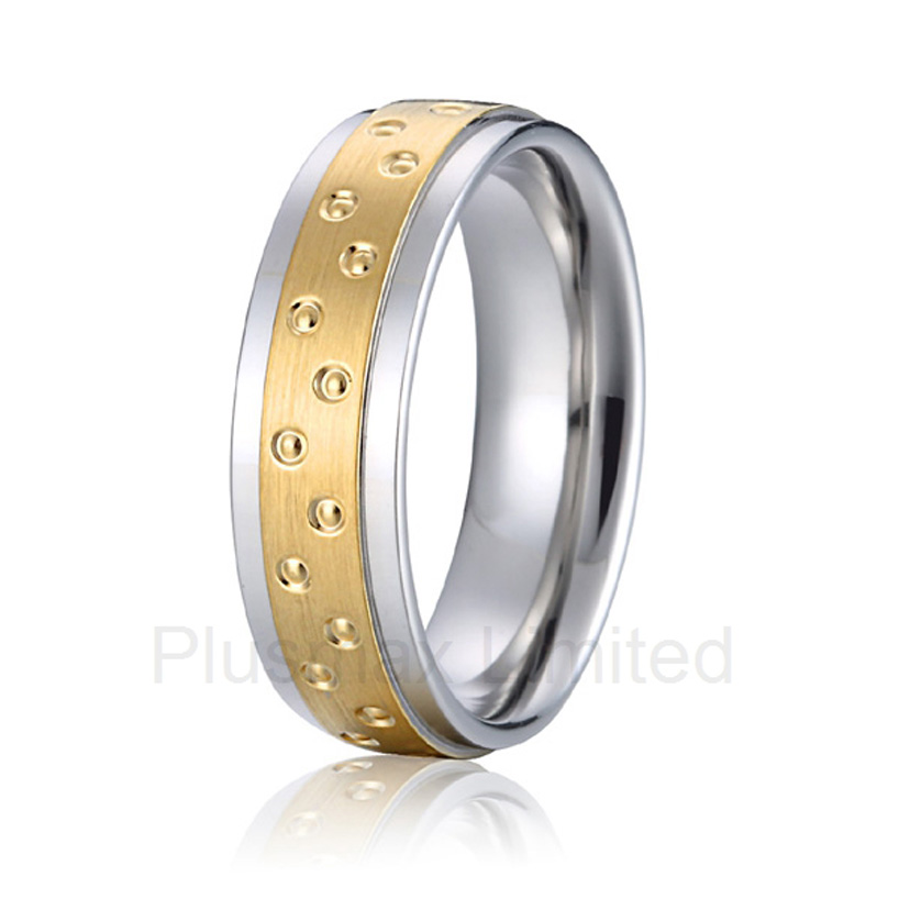 high quality Professional and reliable Perfect luxury handmade super cool titanium wedding band fashion rings for men цена 2017
