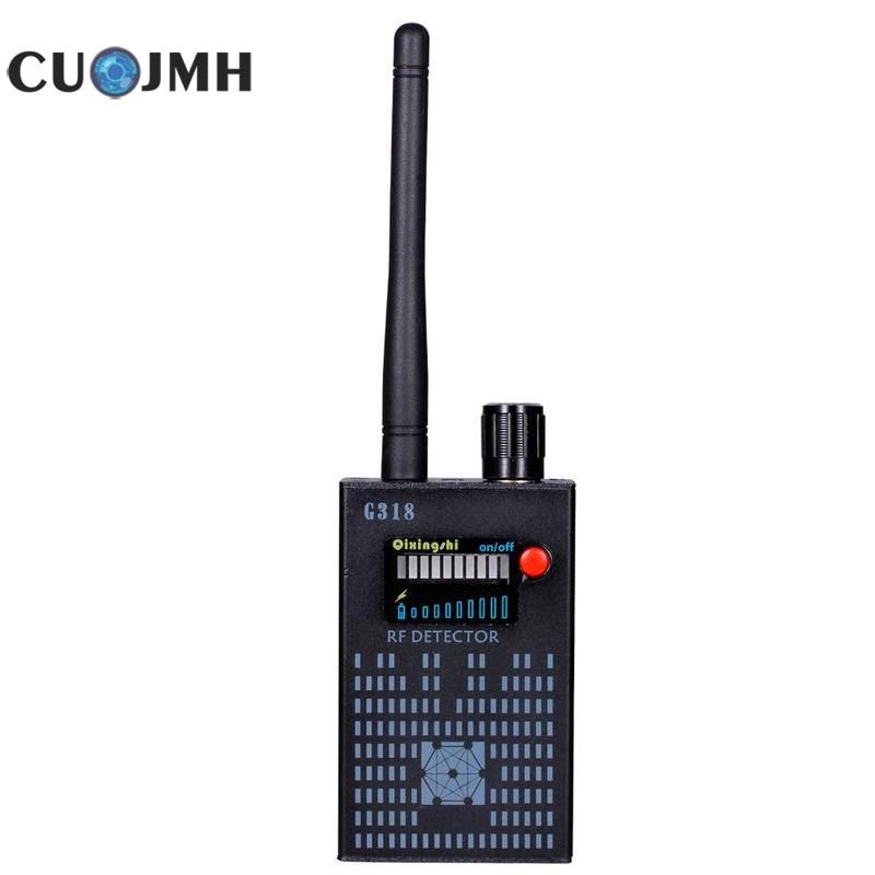 цены 1 Set Eu Signal Detector Multifunction Amplification Signal Detector Wireless Finder G318 Black Signal Detector