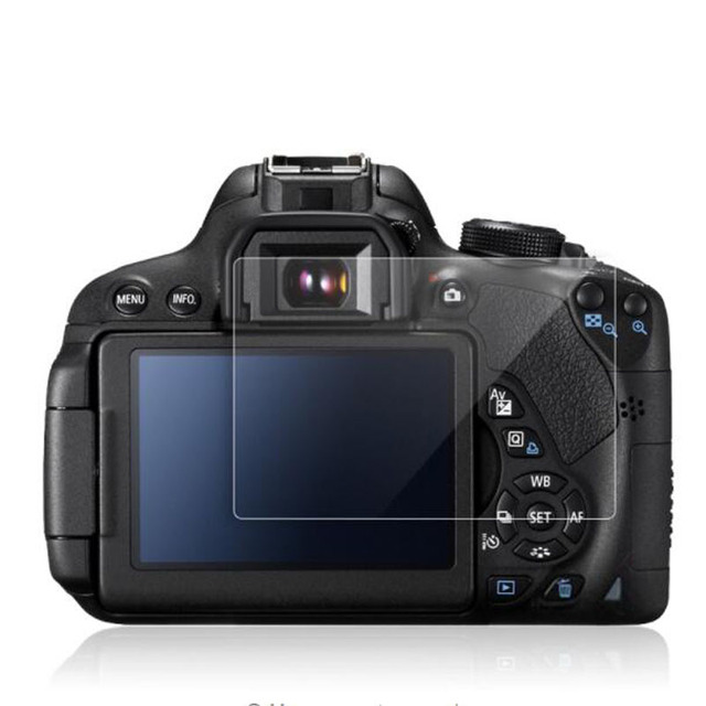 Закаленное Стекло Экран Защитная пленка для цифровой однообъективной зеркальной камеры Canon EOS 650D 70D 700D 750D 760D 77D 9000D 80D 800D 90D Rebel T4i T5i T6i T7i Камера