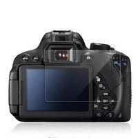 Temperli cam LCD ekran koruyucu Film Canon EOS 650D 70D 700D 750D 760D 77D 9000D 80D 800D Rebel T4i t5i T6i T7i kamera|Kamera LCD Ekran|   -