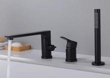 bathtub faucets waterfall faucet bath tub mixer deck mounted tub faucet bathroom mixer BF777