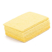 10Pcs 3.5*4.5cm High Temperature Sponge Clean Clear Tin Welding Soldering Iron