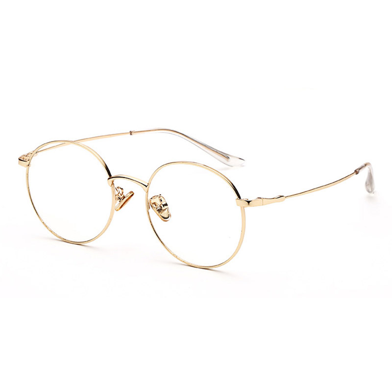 b31c23148b Detail Feedback Questions about Alloy Eyeglasses Frame for Men and Women  Optical Spectacles Oval Prescription Eyewear Glasses Frame High Quality on  ...
