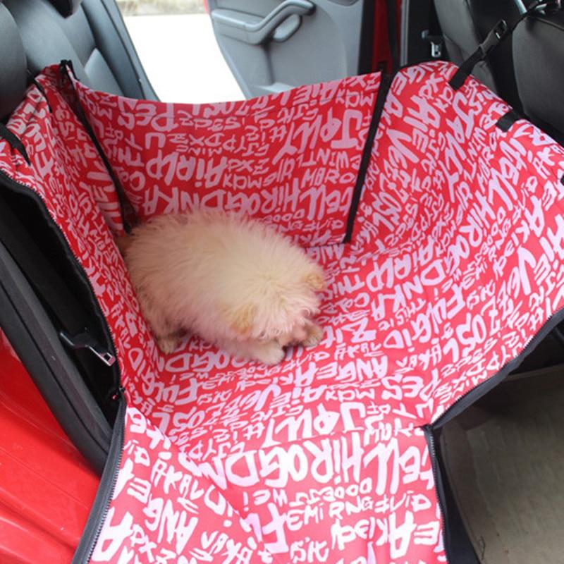 Pet Dog Cat Car Rear Back Seat Carrier Cover Pet Dog Mat Blanket Cover Mat Hammock High Quality Car Cushion Protector 60x50x35cm