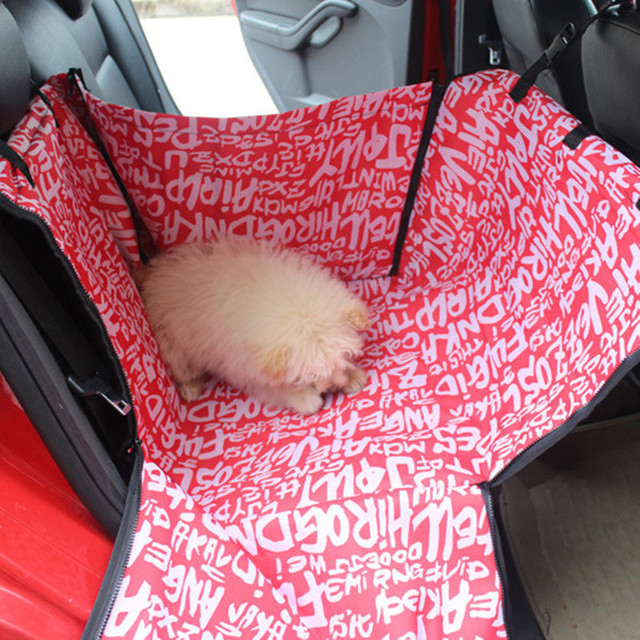 Pet Dog Cat Car Rear Back Seat Carrier Cover Pet Dog Mat Blanket Cover Mat Hammock High Quality Car Cushion Protector 60x50x35cm