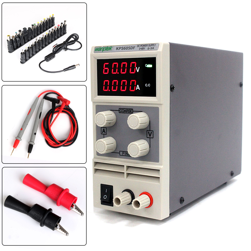 High-precision and adjustable power supply,60V 5A mA-level  mini switch DC power supply switch power kps3010d adjustable high precision double led display switch dc power supply protection function 30v10a 110v 230v