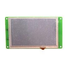 Dmt48270m050_02wt tela de porta serial de 5 polegadas mini módulo resistive do lcd da tela de toque dmt48270m050_02w dmt48270m050_02wn