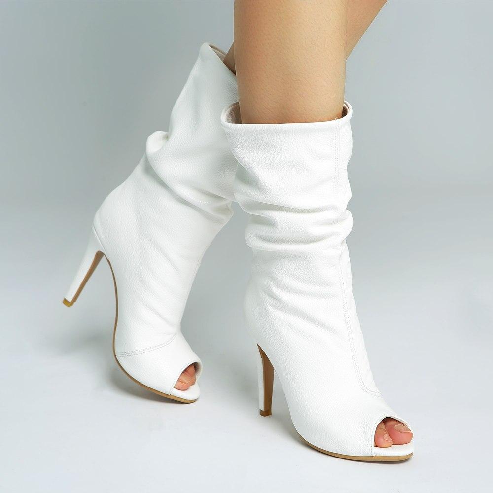 Doratasia 브랜드 뉴 플러스 사이즈 34 47 더 많은 색상 사용자 정의 부츠 여성 신발 여성 하이힐 신발 여성 여름 부츠-에서미드 카프 부츠부터 신발 의  그룹 1