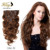 Transporte rápido 10 pçs/set 100% 7A Virgem Remy Clipes Em Extensões Cabeça Cheia Brasileiro da Onda Do Corpo Preto Natural 1B Humano cabelo