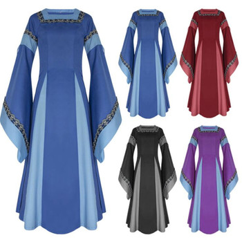 Косплей средневековое платье в ассортименте
