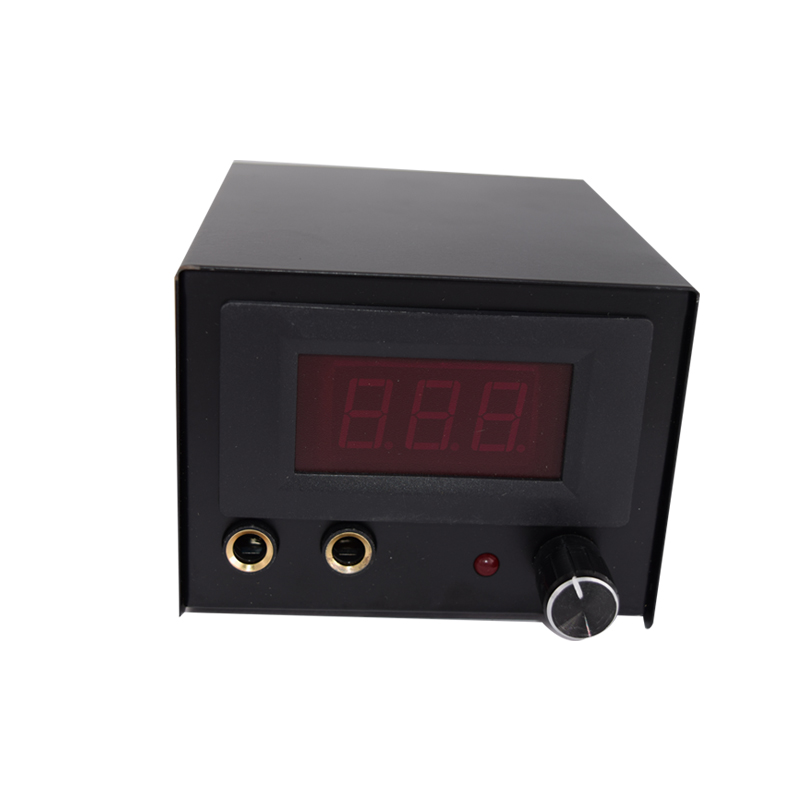 где купить Hot Sale Professional tattoo machine kit LCD Display digital stainless steel dual Tattoo power supply по лучшей цене
