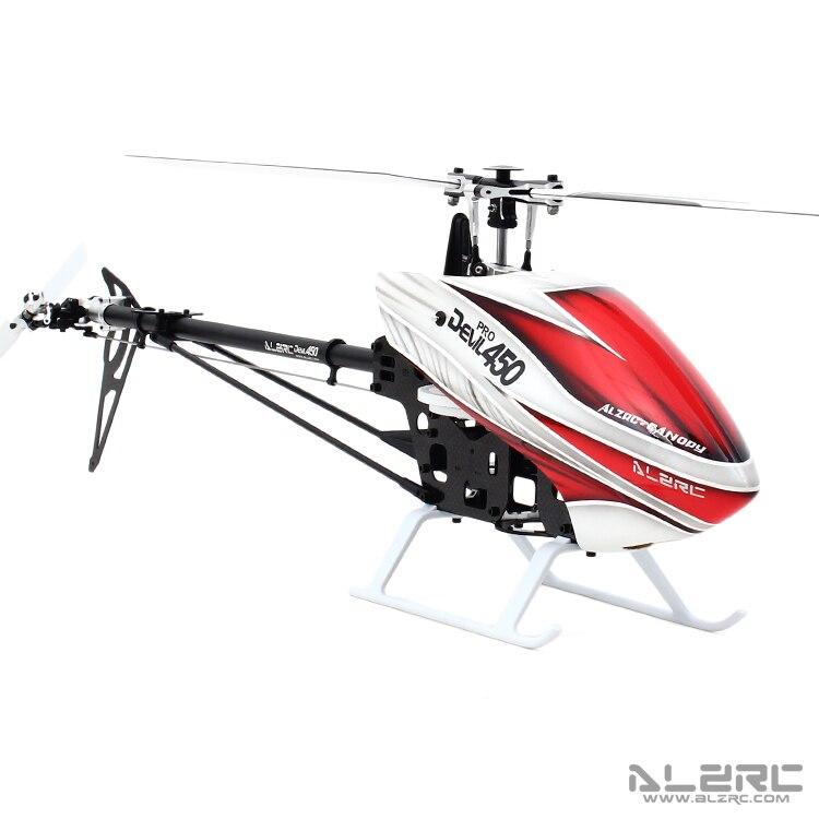 ALZRC - Devil 450 Pro V2 SDC/DFC KIT Black Standard Helicopter 450 DFC KIT Model alzrc 450 helicopter devil 450 pro v2 fbl kit silver