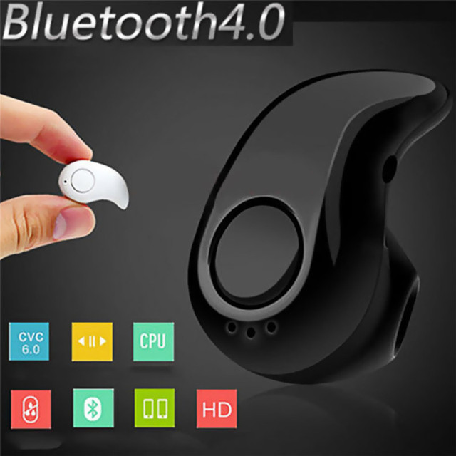 S530 Mini Wireless Bluetooth Earphone in Ear Sport with Mic Handsfree Headset Earbud for iPhone 7 8 X For Samsung Huawei Android