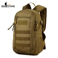 12L Mini Camouflage Backpack School Men Women Sports Molle Bags Tactical Military Rucksack Travel Tourist Bag Mochial XA351WD