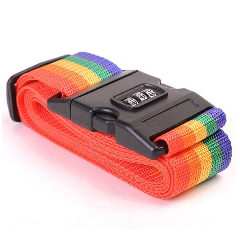 secure travel suitcase id luggage tag put it back it s mine black Travel Luggage accessories Rainbow Travel Luggage Suitcase Strap Luggage suitcase Secure Lock Safe Belt Strap 2m baggage Belt