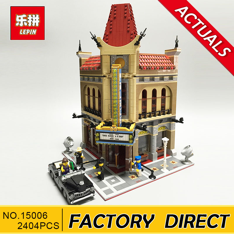 Lepin 15006 2354pcs Palace Cinema Model Building Blocks set Bricks Toys Compatible with 10232 lepin building bricks 15006 2354pcs palace cinema model building blocks set compatible 10232 educational toys gifts for children