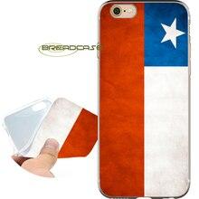4901bea2e10 Funda Chile grungy bandera capa claro suave TPU silicona teléfono casos para  el iPhone x 8