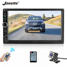 Jansite 7 2 din Full HD Car Radio MP5 player DVD with digital Touch screen Bluetooth TF car stereo can connect with Rear camera цена