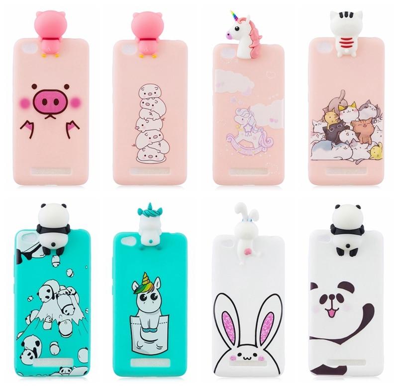 For Xiaomi Redmi 4A Case Cover Soft Silicone Colored Phone Cover Case For Xiomi Redmi 4A A4 5.0 Phone Back Fundas Redmi 4A Case