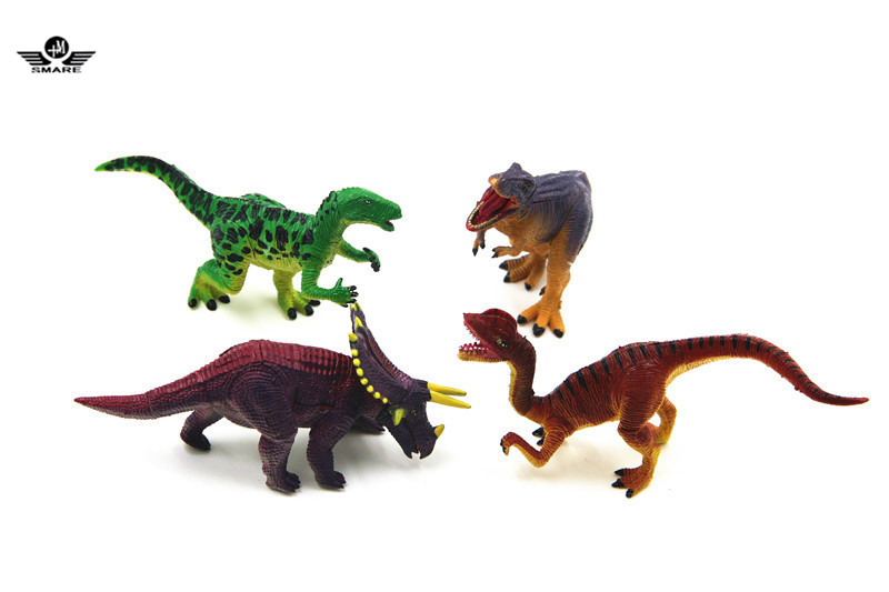 Smare 4 piece/set Dinosaur Dino Part XIII 4D 3D Puzzle Egg Model Kit DIY Educational Toy For Children Earlier Education