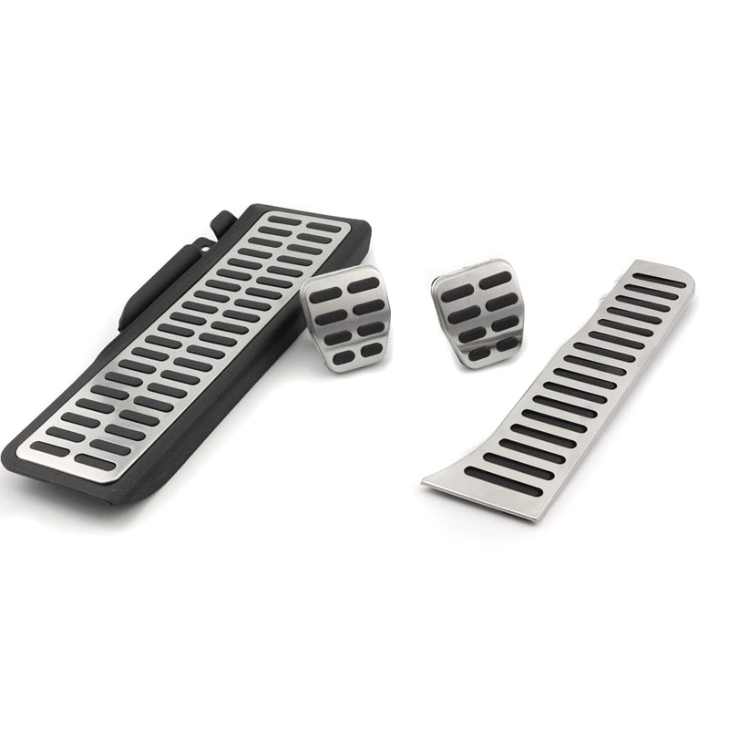 High Quality Aluminum Car Brake Foot Pedal Fuel/Brake/Clutch Pedal Set Fit For VW Golf 5 6 MK6 Jetta MK5 Scirocco Octavia